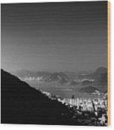 Rio De Janeiro, Brazil Panorama Wood Print