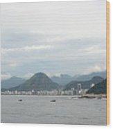 Rio De Janeiro II Wood Print