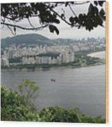 Rio De Janeiro Vii Wood Print