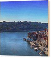 Rio Douro Wood Print