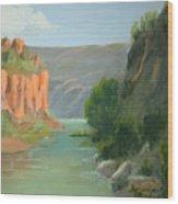 Rio Grande Canyon Wood Print