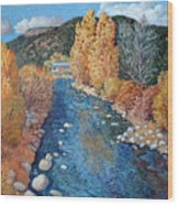 Rio Pueblo Wood Print