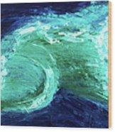 Rip Tide Wood Print