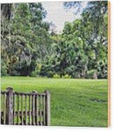 Rip Van Winkle Gardens Louisiana  Wood Print