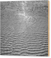 Rippled Light Wood Print
