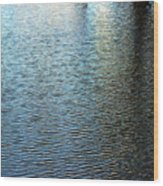 Ripples And Reflections Abstract Wood Print