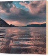 Ripples And Reflections Wood Print