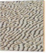 Ripples In The Sand IIi Wood Print