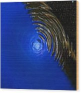 Ripples Of Time And Space Wood Print