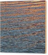 Ripples Of Zen Wood Print
