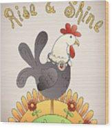 Rise And Shine-jp2836 Wood Print