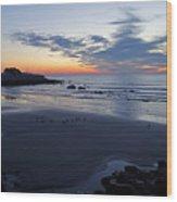 Rise Of The Phoenix Over King's Beach Lynn Ma Wood Print