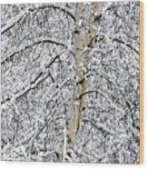 Rising Majesty Wood Print