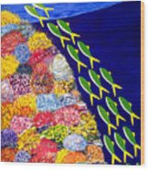 Rising Shoal IIi Wood Print