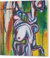Rising Son Wood Print