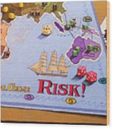 Risk - Cornered Again Wood Print