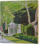 Rittenhouse Square Wood Print