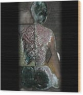 Ritual Transformation Wood Print