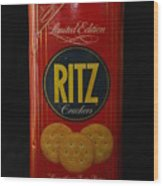 Ritz Crackers Wood Print