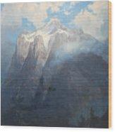 River Canyon Wood Print