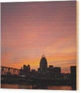 River City Wood Print