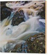 River Dance Wood Print