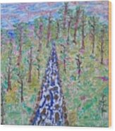 River Dayz Wood Print