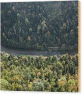 River Dunajec In Pieniny Mountains Wood Print