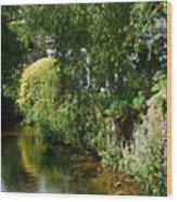 River Eea Cartmel Cumbria Wood Print