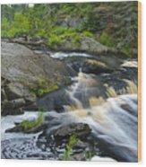 River Flow V Wood Print