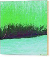 River Grasses 3 Wood Print