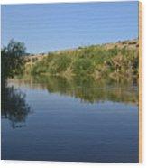 River Jordan Wood Print by Atul Daimari