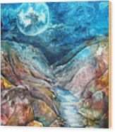 River Of Souls Wood Print by Patricia Allingham Carlson