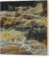 River On The Rocks IIi Wood Print