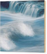 River Rapids Wood Print