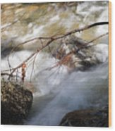 River Rapids Wood Print