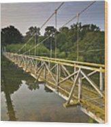 River Teviot  Wood Print
