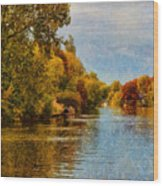 River Thames At Staines Wood Print