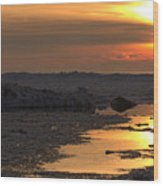 River To The Sun 2 Wood Print