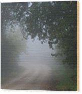 River Valley Road Wood Print