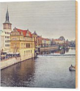 River Vltava Wood Print