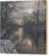 Riverbend Wood Print