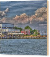 Riverboat On The Potomac Wood Print