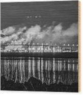 Riverfront Park Charleston Wood Print