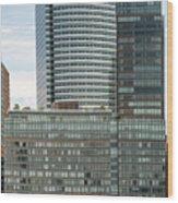 Riverhouse, One Rockefeller Park At 2 River Terrace In Battery Park City Wood Print