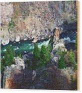 Riverrun Wood Print
