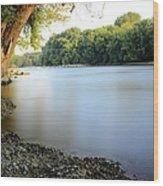 Rivers Edge 2 Wood Print