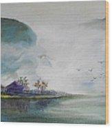 Riverscape No 5 Wood Print