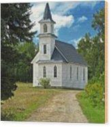 Riverside Presbyterian Church 1800s Wood Print