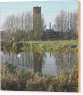 Riverside Walk - Burton On Trent Wood Print